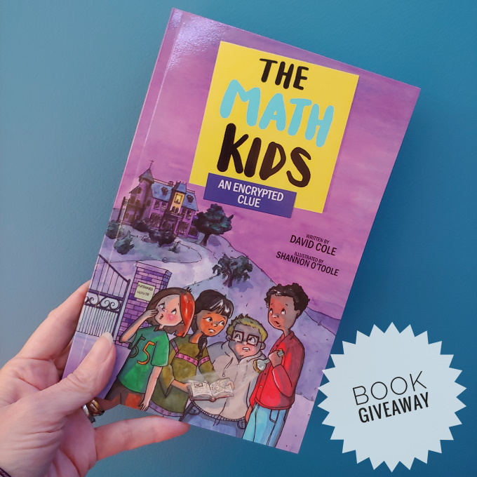 The Math Kids An Encrypted Clue Book Giveaway via www.parentclub.ca