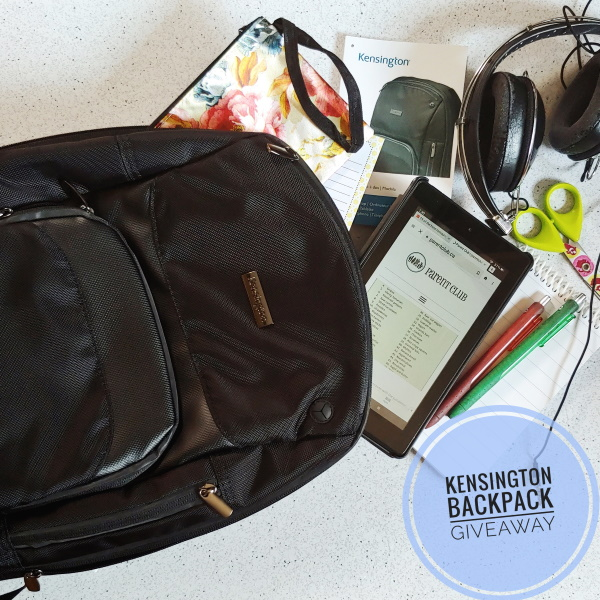 Kensington Triple Trek™ Ultrabook™ Optimized Backpack Review + Giveaway via www.parentclub.ca
