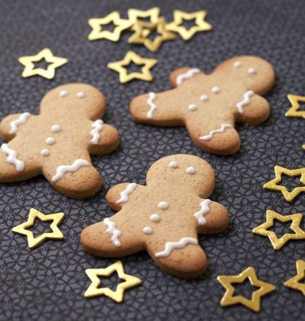 biscuits bonhomme de pain d'épices