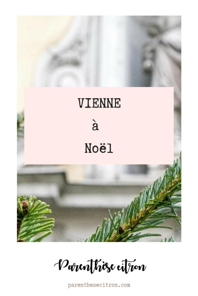 Vienne à Noël