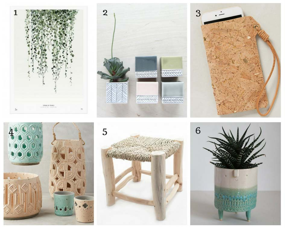moodboard déco nature