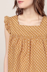 blouse close coton