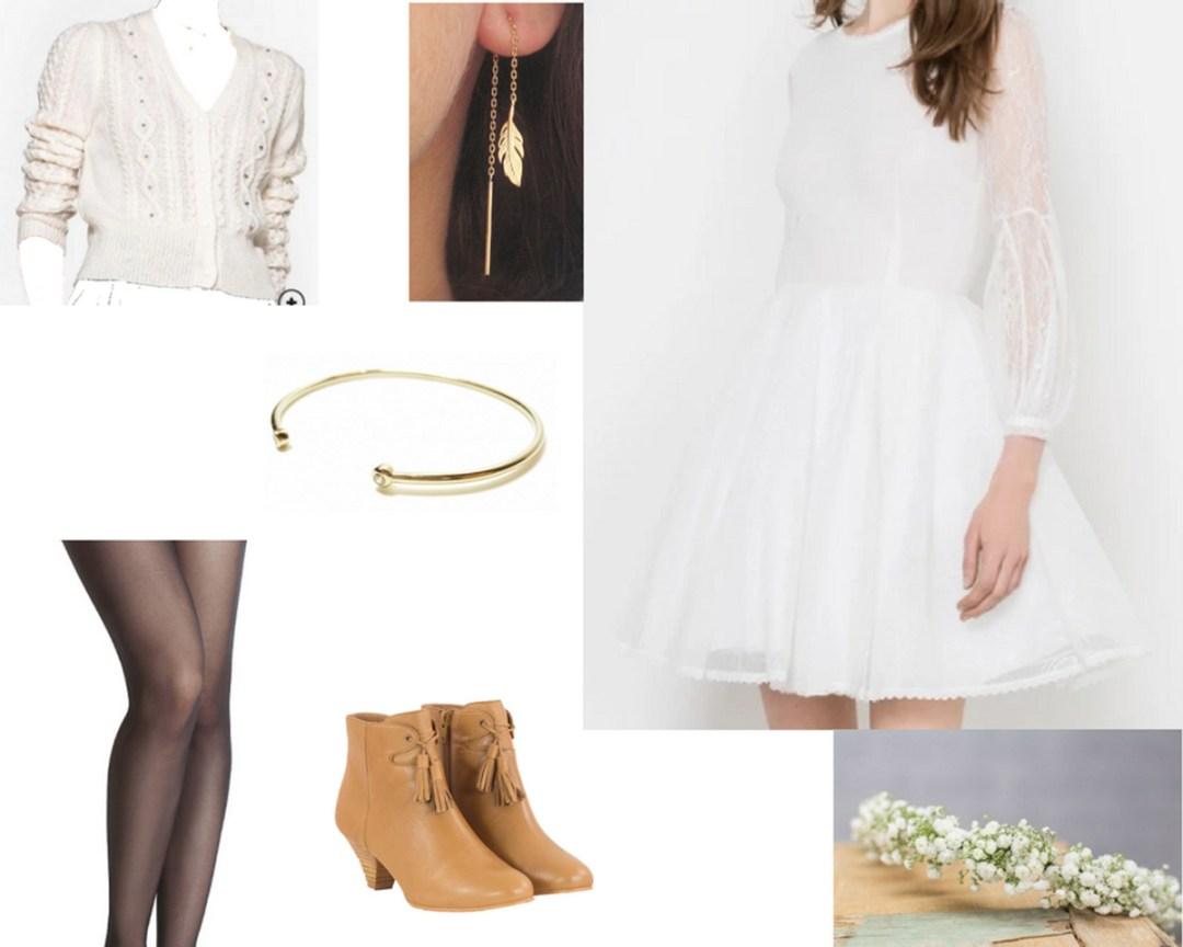 tenue mariée