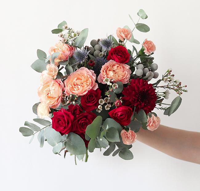 bouquet de fleurs Bergamotte