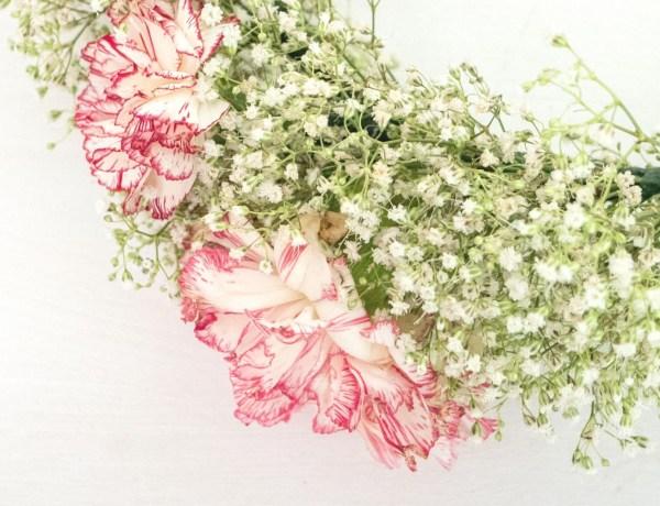 tuto couronne de fleurs
