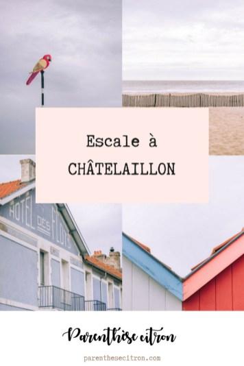 Courte escale à Châtelaillon