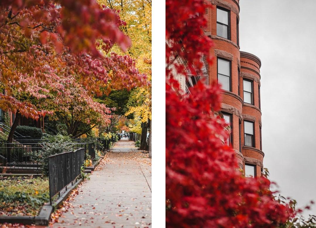automne à Boston, massachusetts