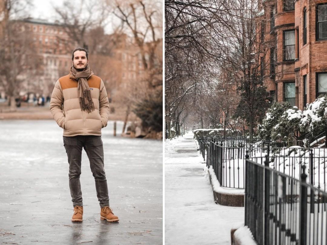 survivre un hiver à Boston