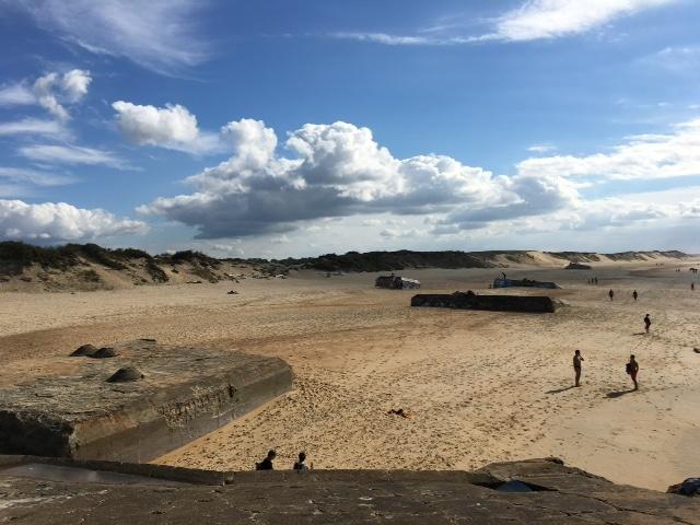 La plage de Capbreton