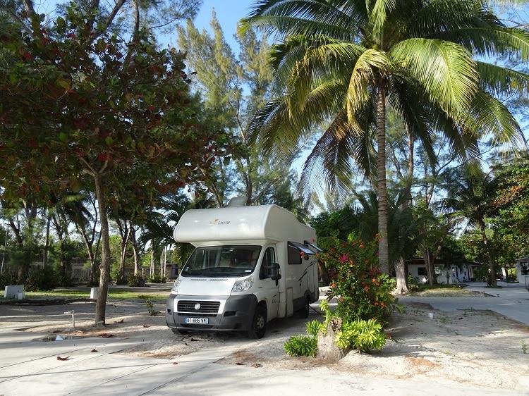 En camping-car au Mexique