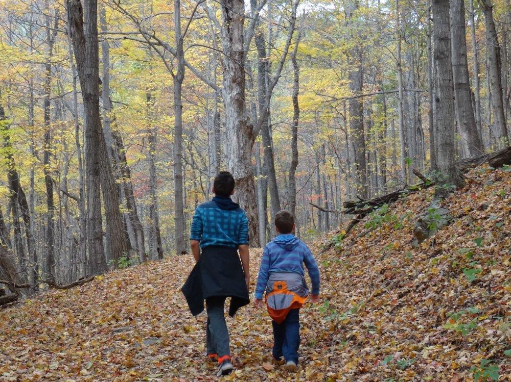 Nos enfants à Shenandoah