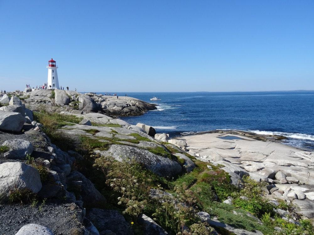 Peggys Cove, la côte Atlantique au Canada