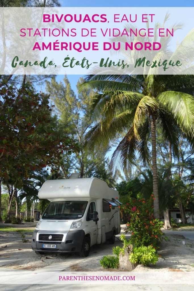 Un camping avec tous les services au Mexique