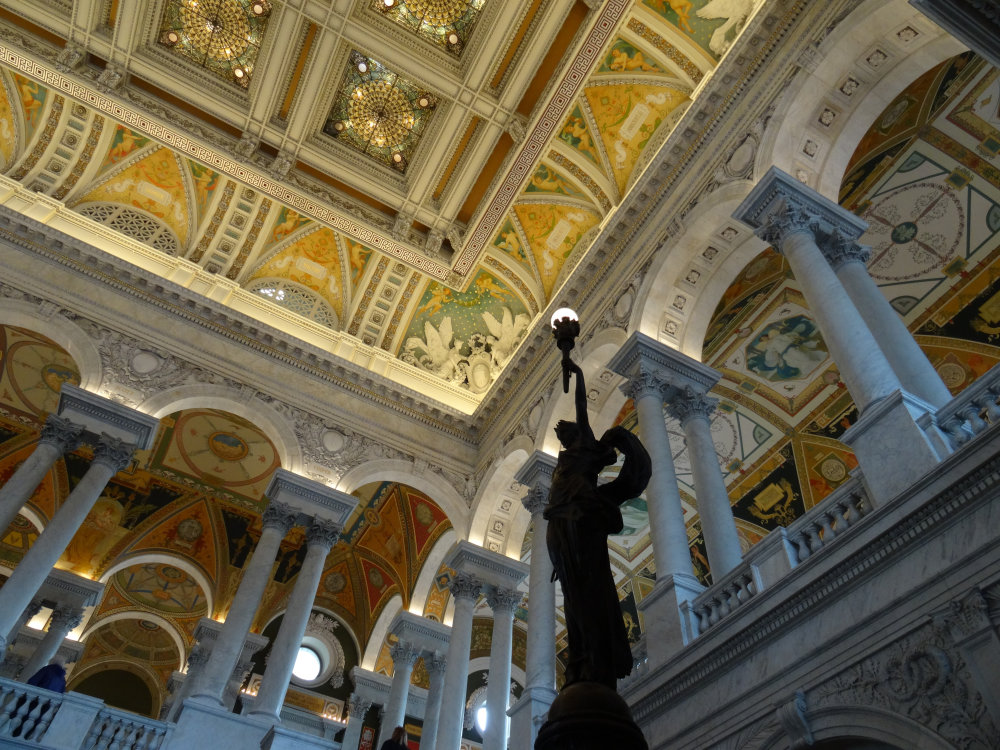 Le Grand Hall de la bibliothèque