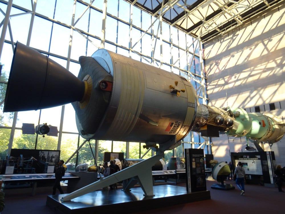 Le complexe Apollo-Soyouz, symbole de la fin de la guerre froide