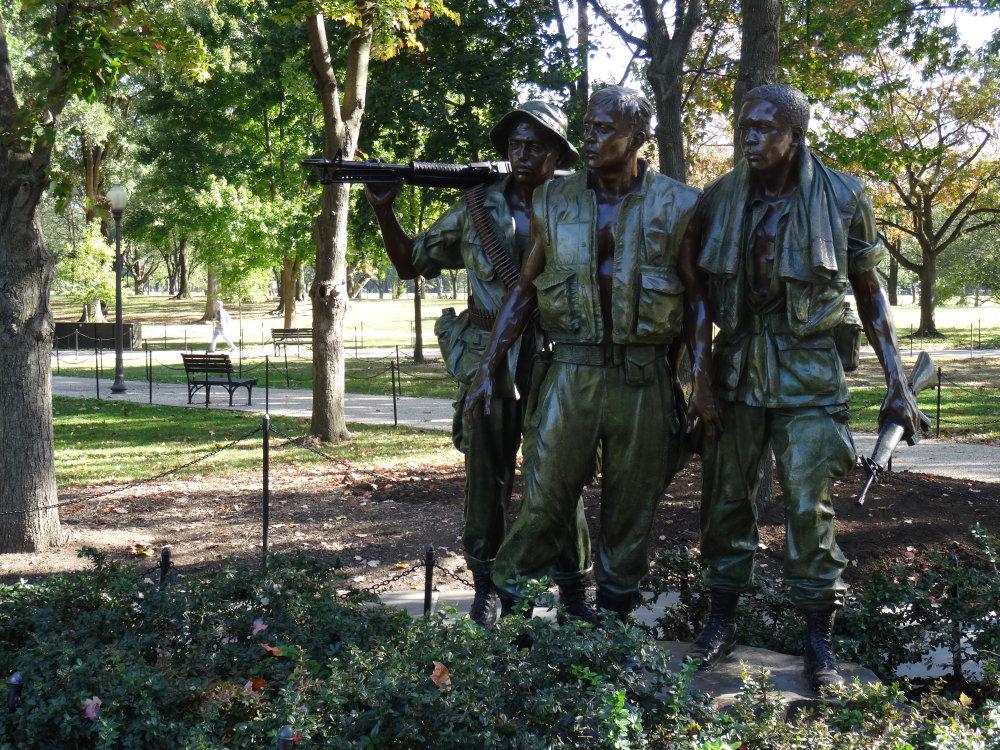 Le mémorial de la guerre du Vietnam