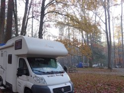 camping au coeur des Great Smoky Mountain