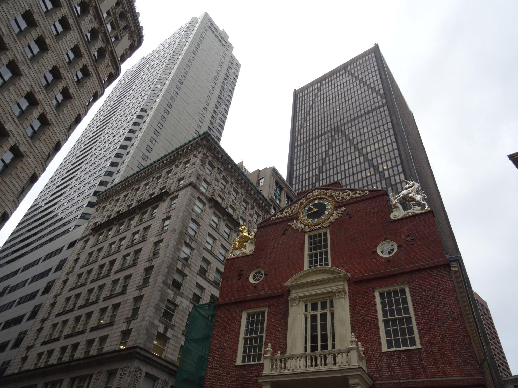 Boston, les buildings de downtown