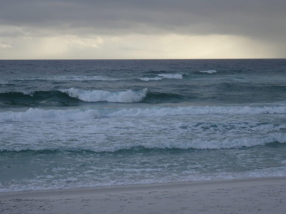 Les vagues de Pensacola