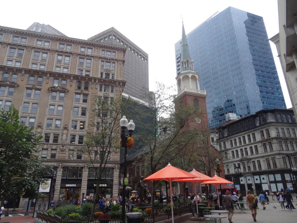 Le Quincy Market de Boston