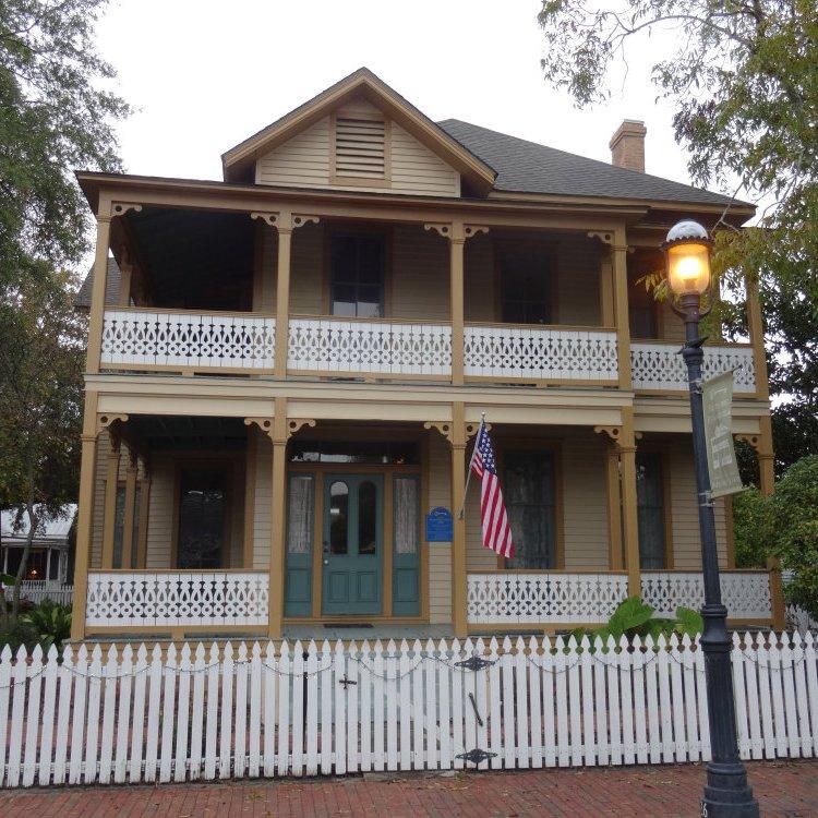 Les vieilles maison de Pensacola