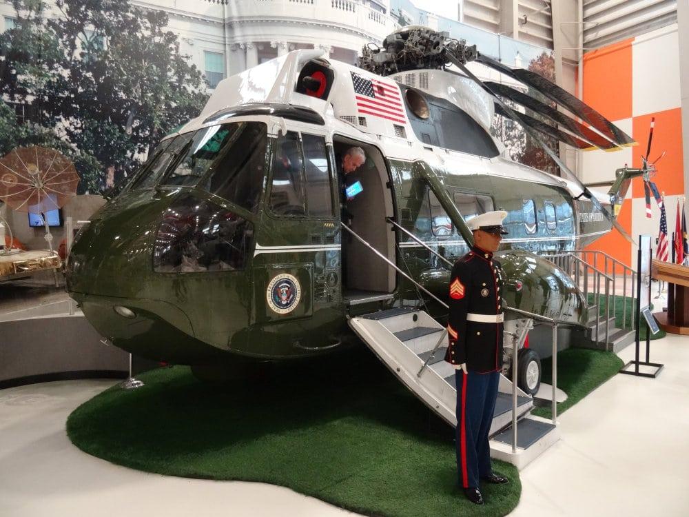 L'hélicoptère du président des USA