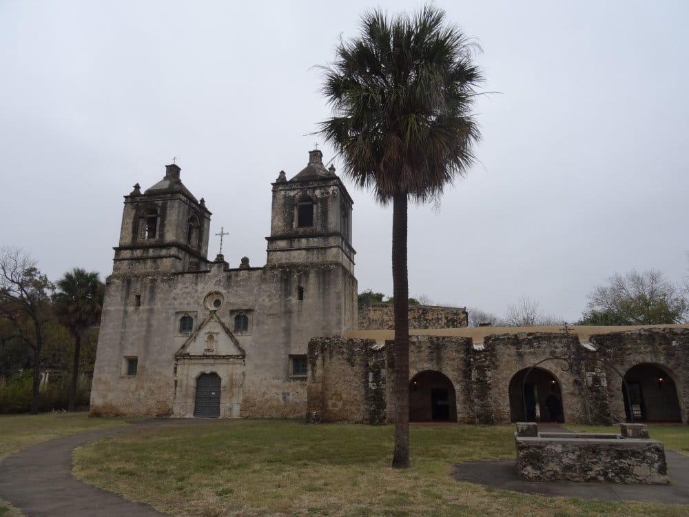 La Mission Concepcion à San Antonio