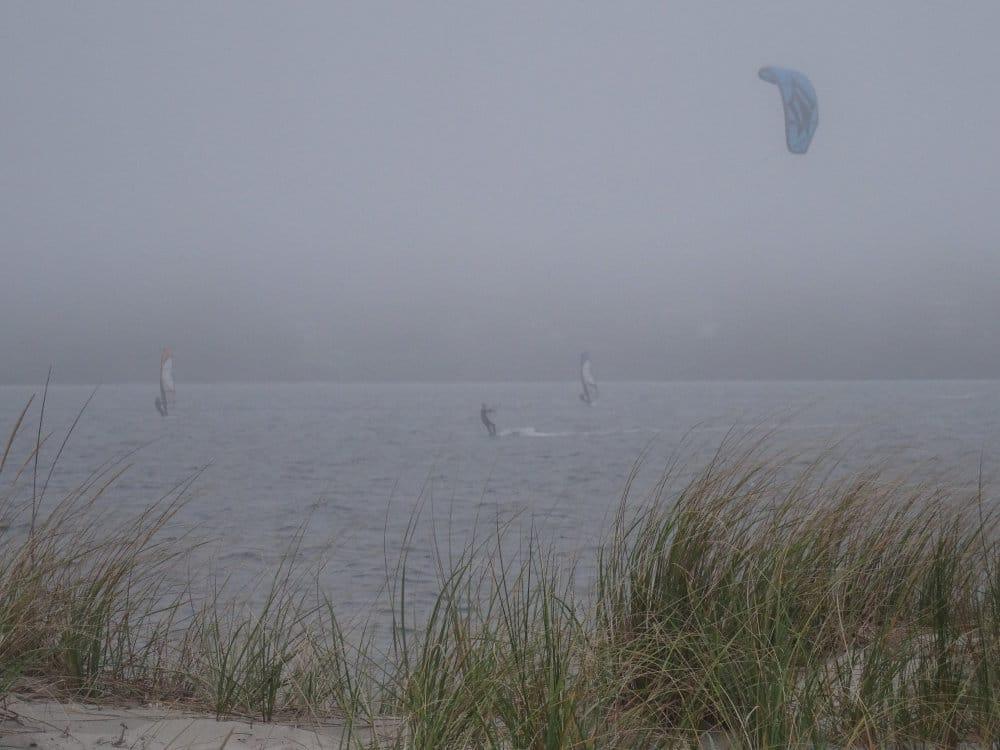 Brouillard sur Fogland Beach