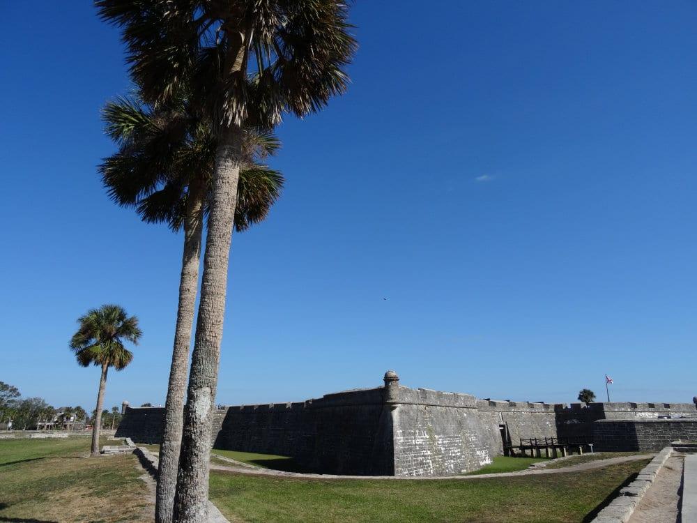 Le Castillo San Marcos de Saint Augustine