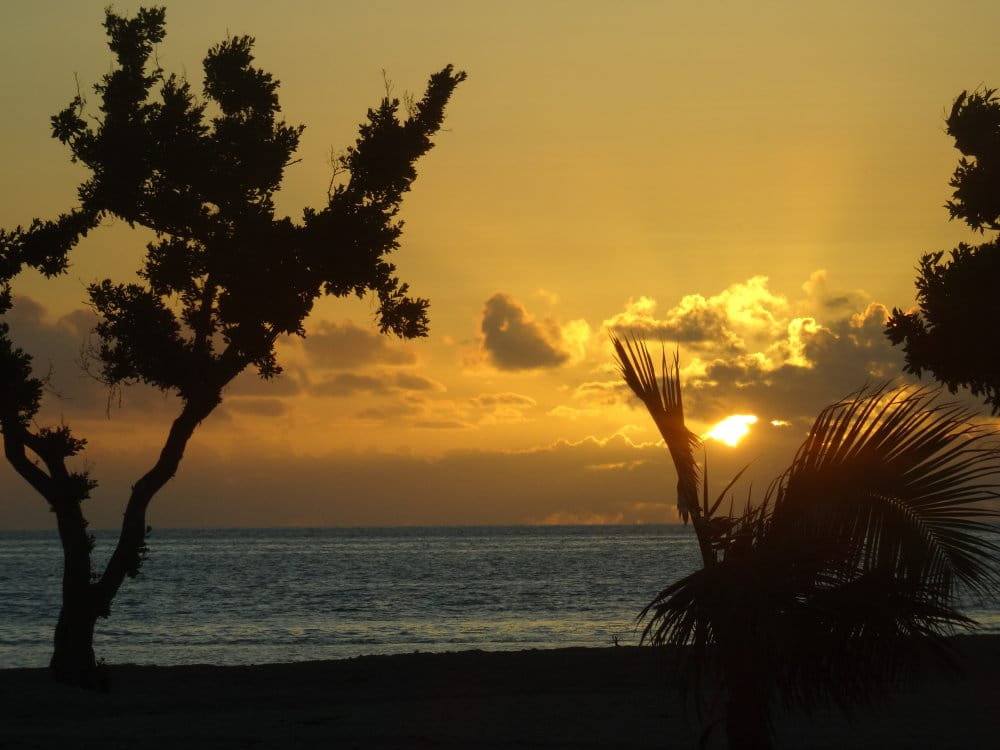 Sunset sur les Keys