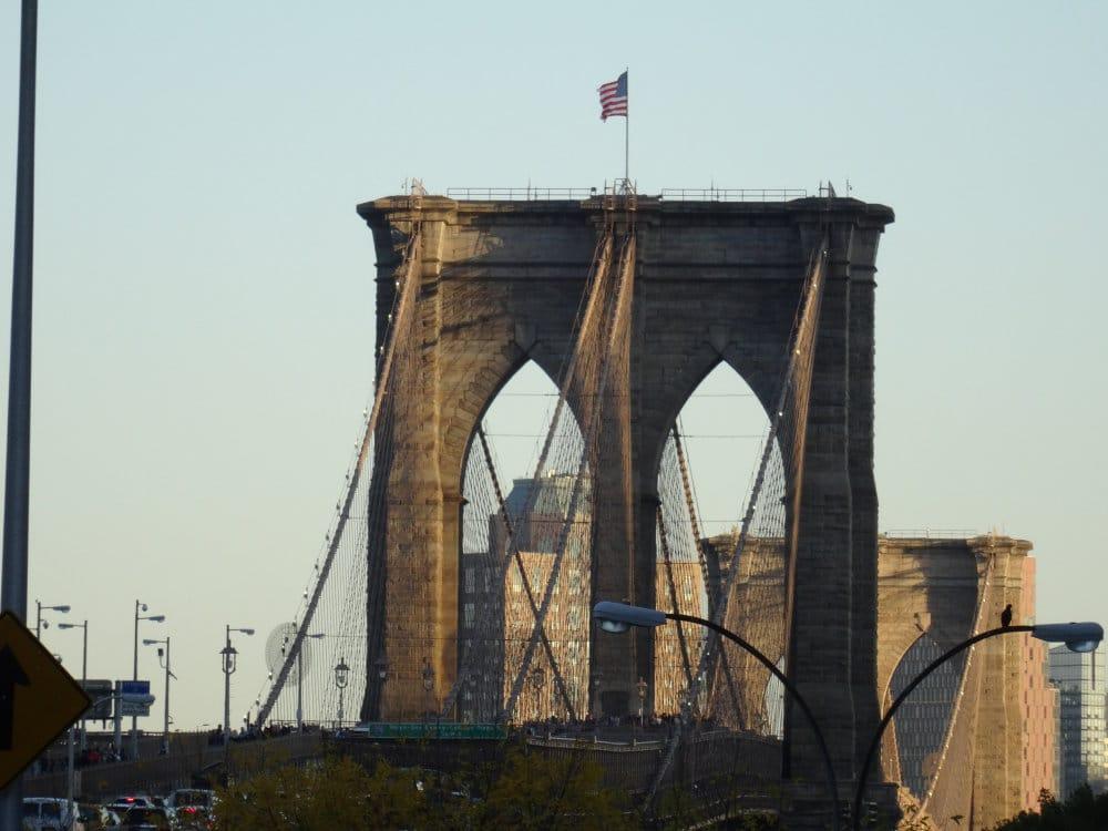 Le célèbre pont de Brooklyn