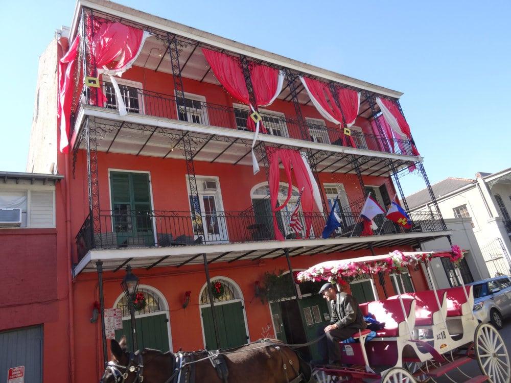 Les maisons à balcon du French Quarter