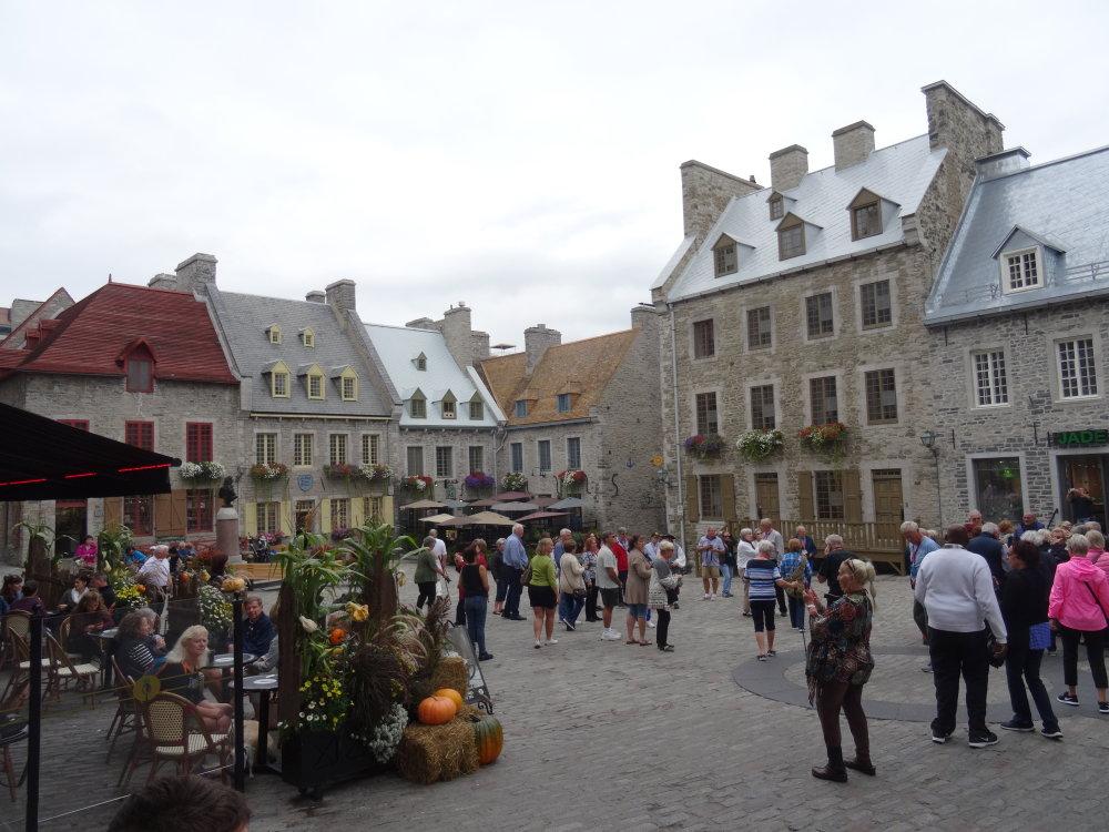 Le quartier Champlain à Québec