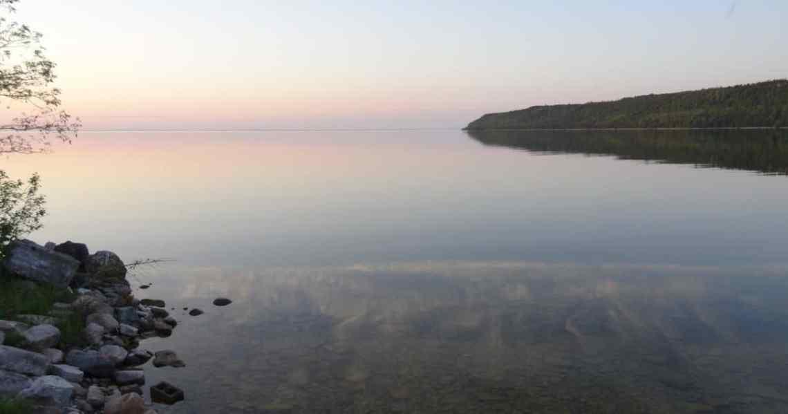 Sur le lac Huron, Ile de Manitoulin
