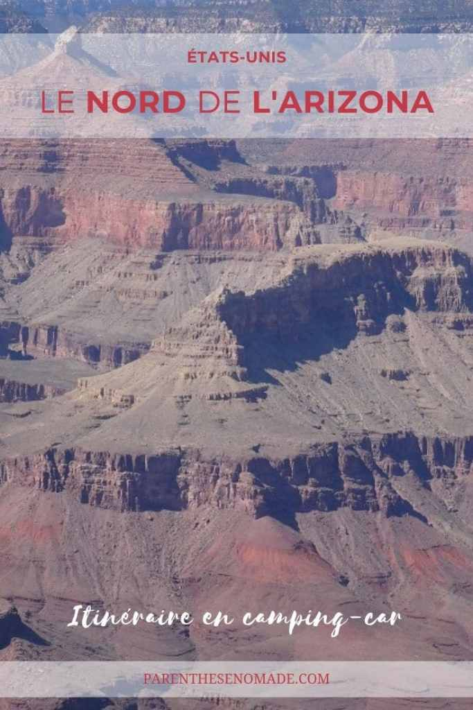 Le Grand Canyon, parc national de l'Arizona aux Etats-Unis