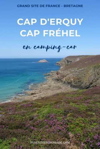 Le Grand Site de France du Cap d'Erquy - Cap Fréhel en camping-car