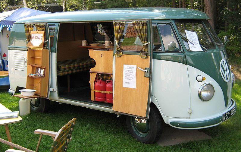 Le premier aménagement Westfalia pour VW : la camping box