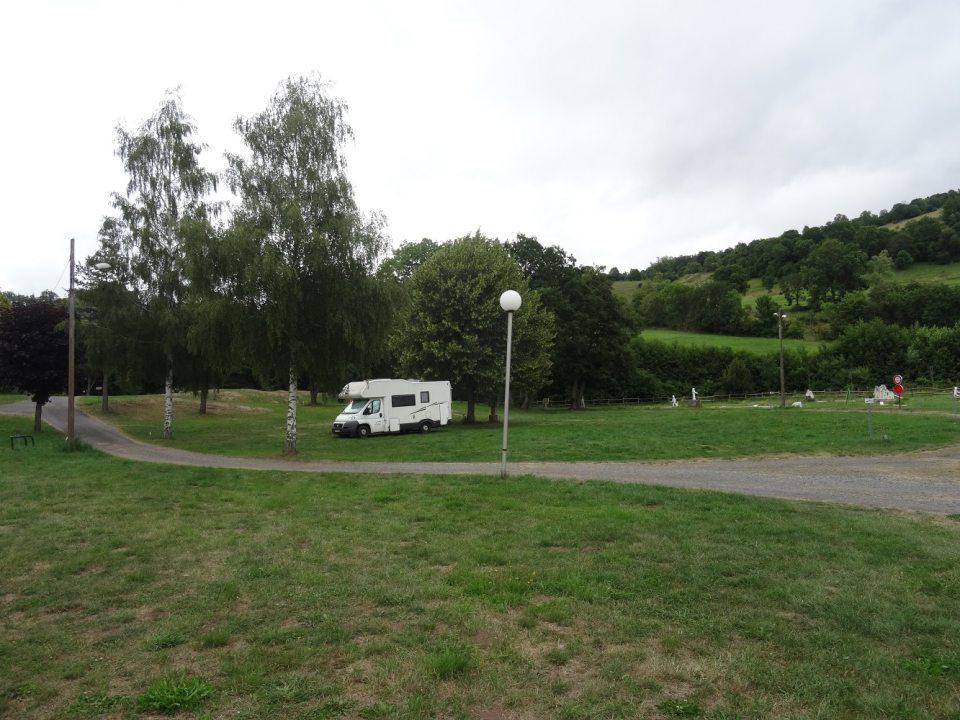 Aire de camping-car à Murat (Cantal)