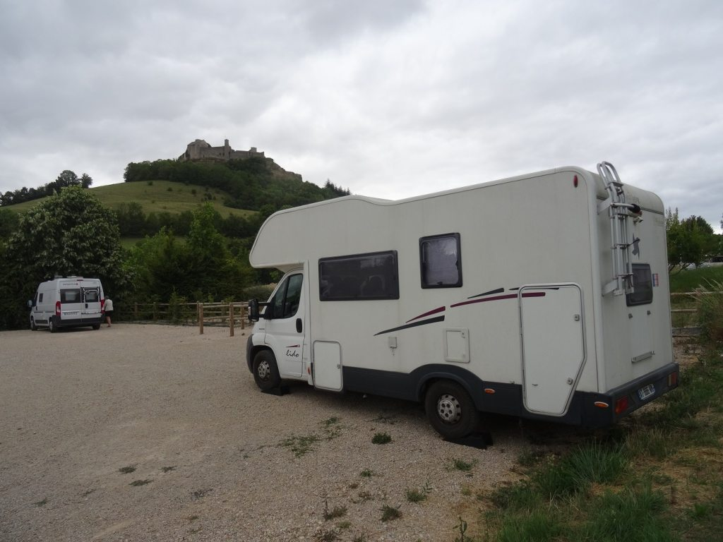 Aire camping-car de Severac le Chateau