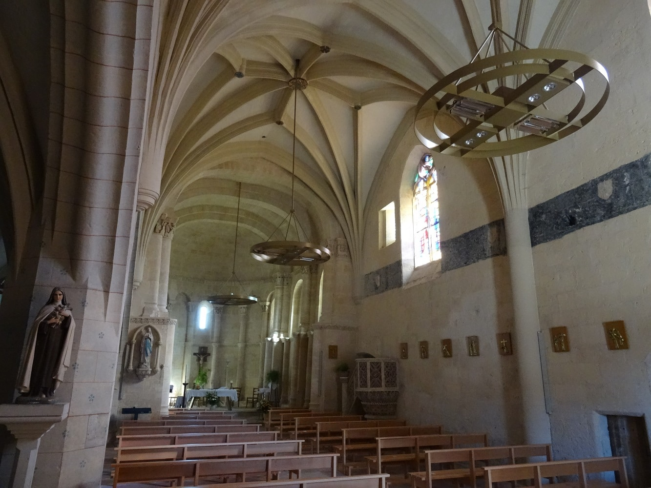 Eglise fortifiée de Saint-Quentin-de-Baron