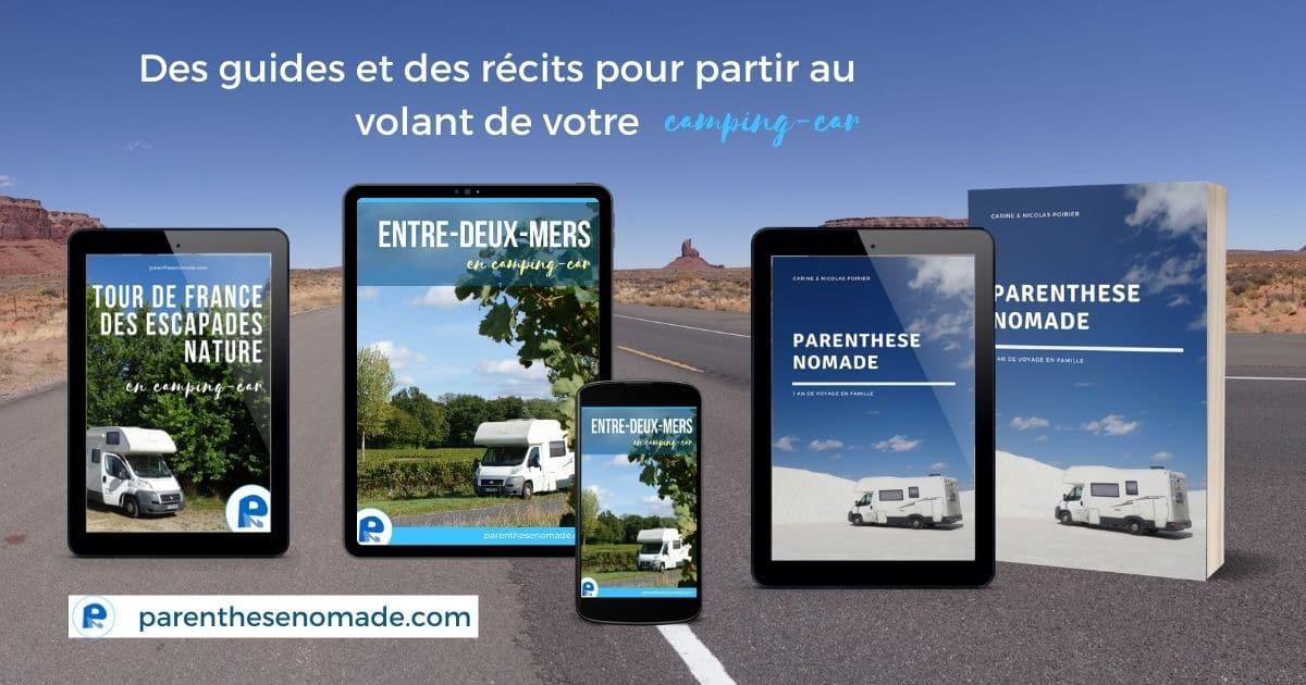 Guides et livres de la collection Parenthèse nomade