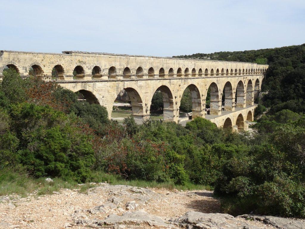Les étages supérieurs du Pont du Gard