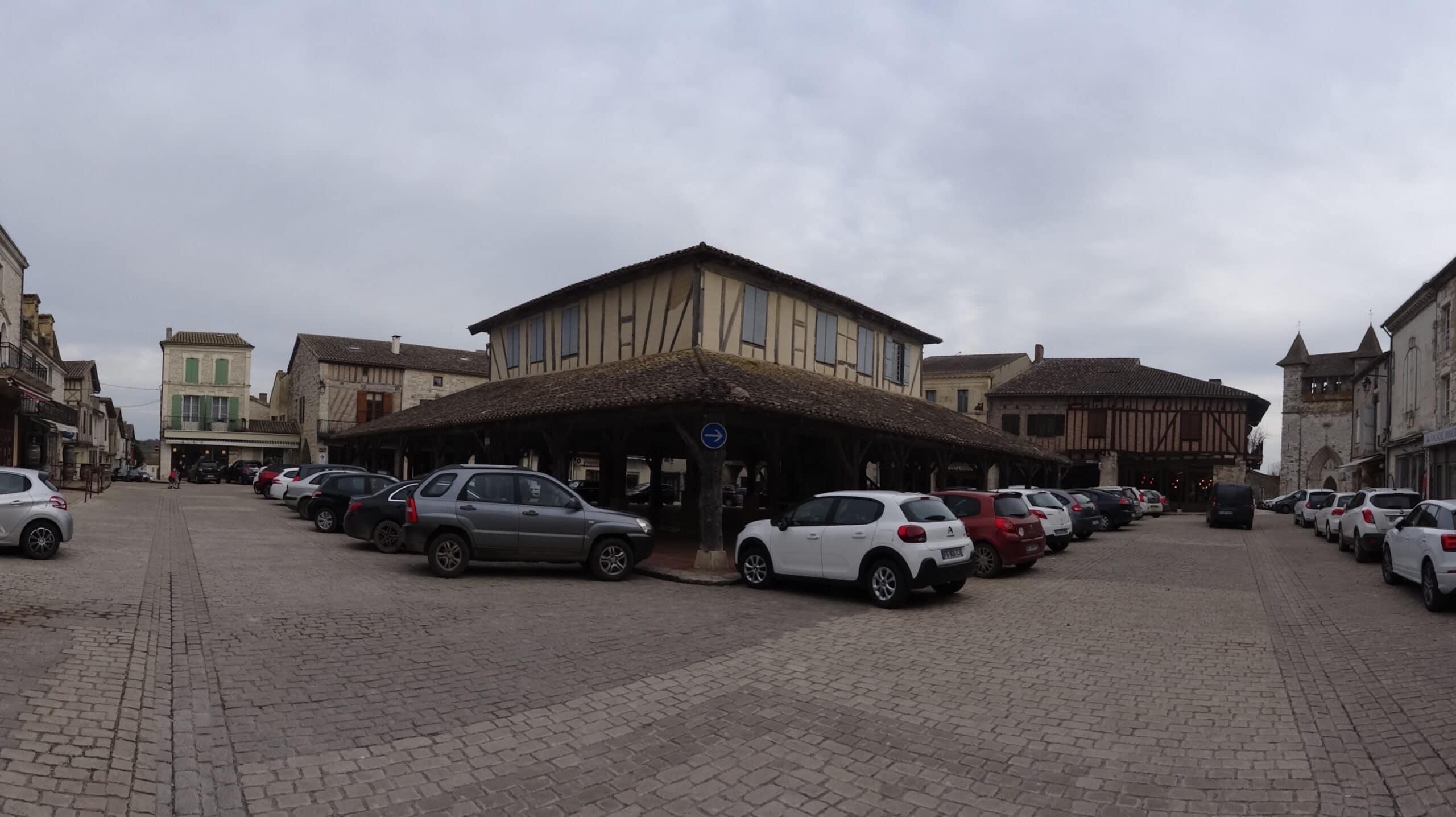 Villereal, plus beau village de France en Lot-et-Garonne