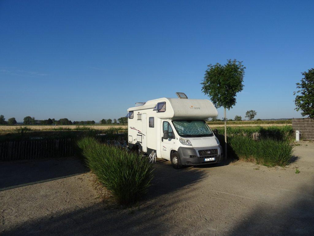 Aire camping-car de Beauvoir - Mont-Saint-Michel