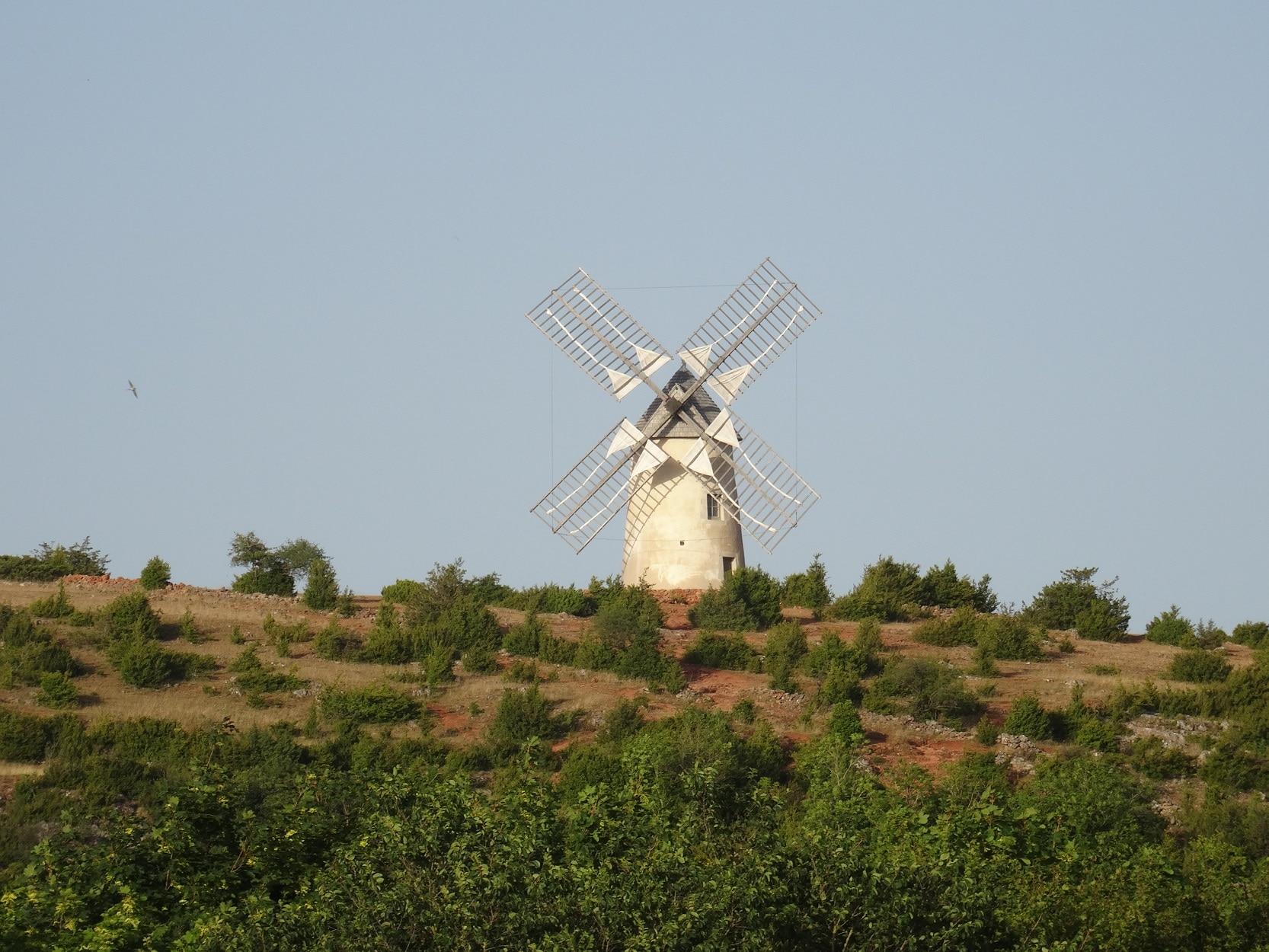 Le moulin de Rédounel - La Couvertoirade