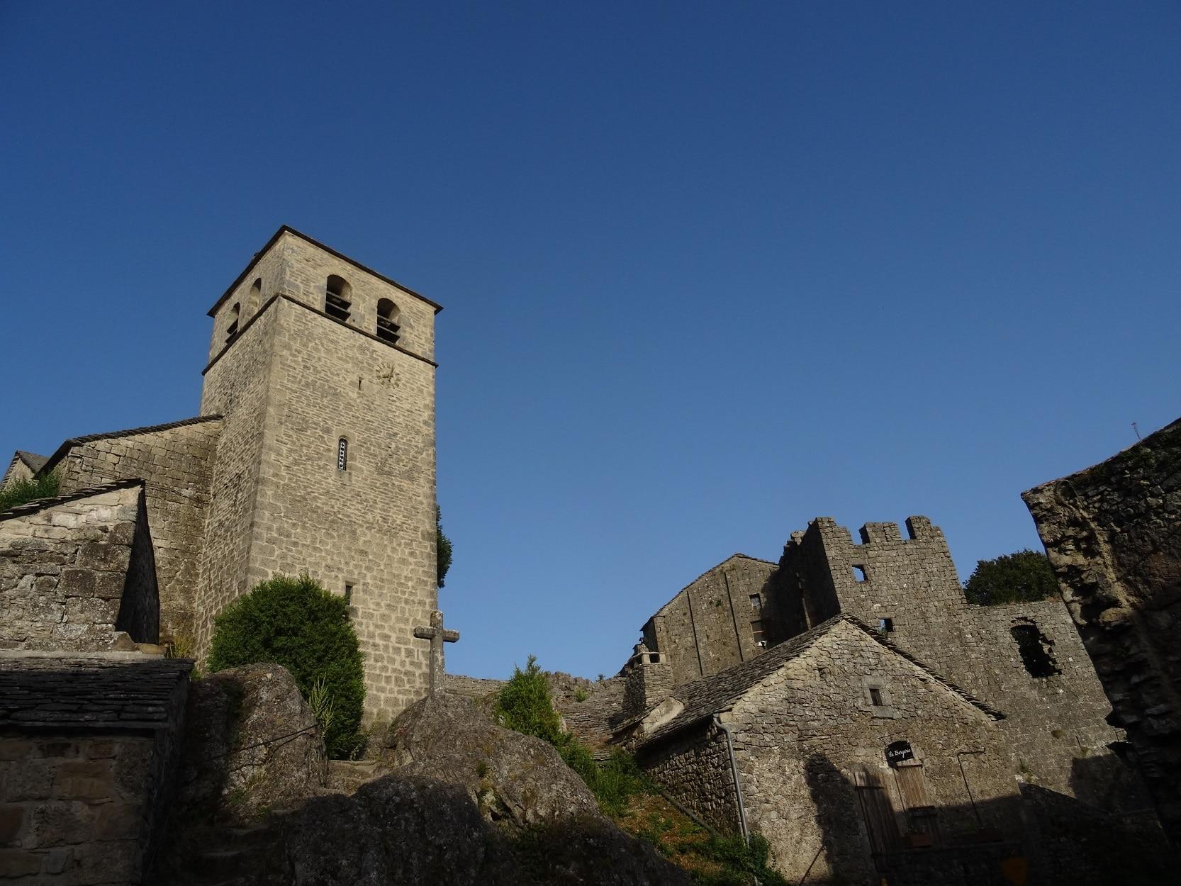 La Couvertoirade, plus beau village de France en Aveyron