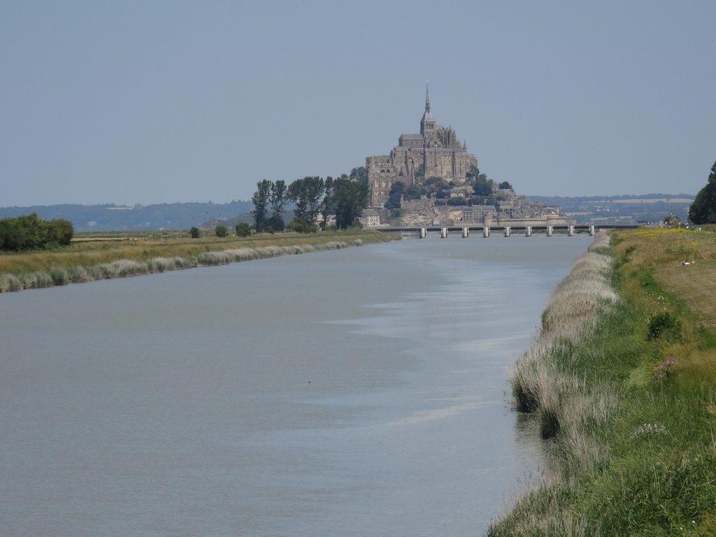 Le Couesnon et le Mont-Saint-Michel