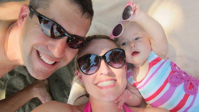 Parenthood and Passports - Baby beach essentials
