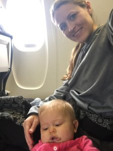 traveling alone with a baby