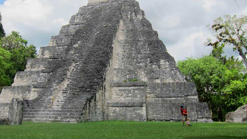 Visiting Tikal with a baby or toddler